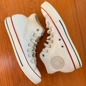 Limited Edition Knit All Star Converse sz 8